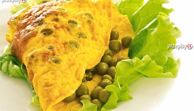 omlet-z-groszkiem