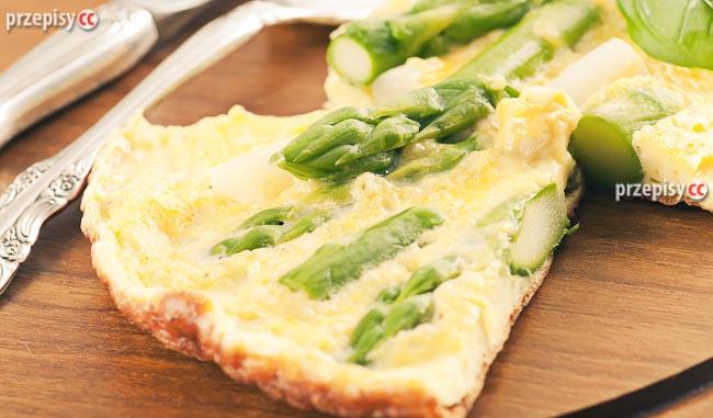 omlet-ze-szparagami